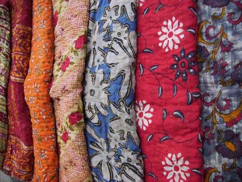 Sari Throw Blankets